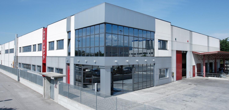 esterno uffici e produzione New Fador